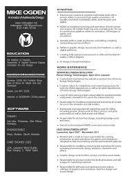 Online Portfolio Resume by Resume U2014 Mike Ogden Online Portfolio