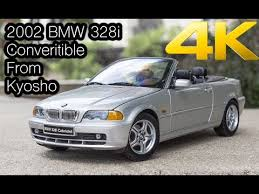 328i 2002 bmw 2002 bmw 328i convertible from kyosho scale 1 18 available in 4k