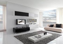 cozy minimalist living room white windows design grey tile