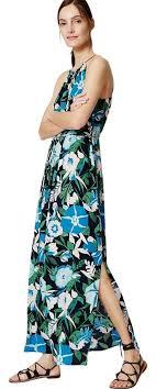 navy maxi dress loft navy jungle floral halter casual maxi dress