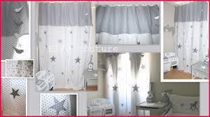rideaux pour chambre de b rideau pour enfant gris chambre fille inspirations avec rideau