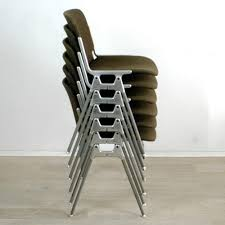 Patio Stacking Chairs Furniture Aluminium Stacking Chairs For Sale Secondhand And
