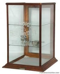 Countertop Store Cadbury Chocolates Display Cabinet With Etched Glass Kitchen