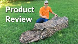Layout Blinds Reviews Review Gander Mountain Full Coverage Layout Blind Youtube