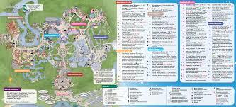 Map Of Orlando 2014 Walt Disney World Park Maps With Fastpass Photo 8 Of 8