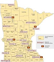 mn counties map county map extension county offices of minnesota