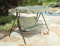 Kmart Canopies by Durable Canopy Patio Furniture Kmart Com Mentor Single Seat Swing