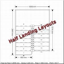 design half landing staircases stair planner fixing häusle