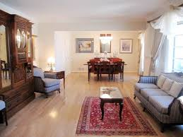rug under coffee table home staging training rules about rugs and when to break them