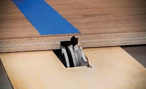 Laminate Flooring Blade Rockler Introduces Miter Fold Dado Set Profiled Blade Cuts Self