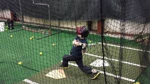 7 year old in batting cage youtube