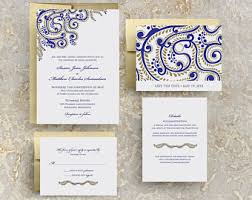 Wedding Invitations India Hindu Wedding Etsy