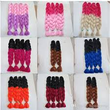 ombre senegalese twists braiding hair best kanekalon jumbo braid hair senegalese twist 82inch 165g