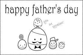 happy fathers day coloring pages printable free download for kids