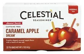where can i buy a caramel apple buy celestial seasonings seasonal favorite herbal tea caffeine