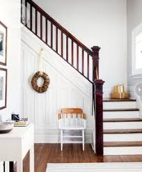 Narrow Stairs Design Would Love To Redo Our Stairs In This Style Moldings