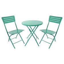 Target Patio Tables Metal Folding Patio Table Turquoise Room Essentials Bistro
