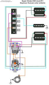 hermetico guitar wiring diagram super strato hsh mod 11