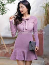 light purple bodycon dress womens long sleeve lace joint bodycon dress black polyester