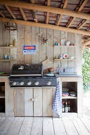 bbq kitchen ideas best 25 rustic outdoor kitchens ideas on rustic