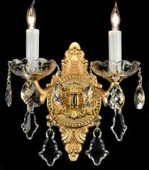 Wall Sconces Bronze French Wall Sconces Bronze Brass Crystal Glass Chandelier
