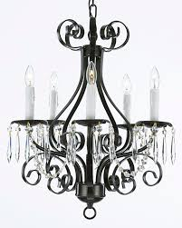 Chandelier Frame French Country Modern Chandelier With Black Iron Frame Lamp Stand