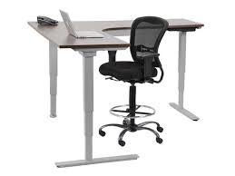 l shaped standing desk l shaped sit stand desk moddesk pro electric standing multitable