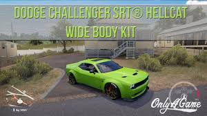 charger hellcat body kit forza horizon 3 dodge challenger hellcat 700 wide body kit