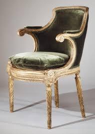 Louis Seize Chair Georges Jacob Armchair Fauteuil From Louis Xvi U0027s Salon Des