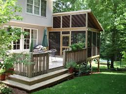 Nice Backyard Ideas inspiring outdoor deck design with nice cozy chair for backyard