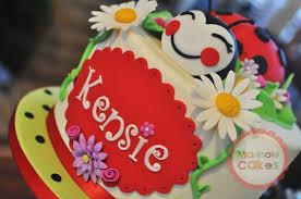 ladybug birthday cake cakecentral com
