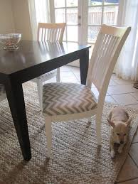 How To Reupholster Dining Chair Best 25 Recover Dining Chairs Ideas On Pinterest Diy Furniture