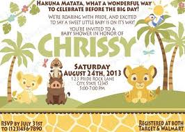 baby lion king baby shower lion king baby shower invitations party jungle showers marvelous