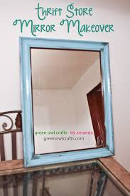 amandabaity com beach bathroom thrift store mirror makeover