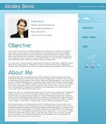 About Me Resume Examples by Creating A Resume In Indesign Resume For Your Job Application