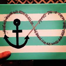 Pinterest Canvas Ideas by Anchor Canvas With Quote My Crafts Pinterest Canvases