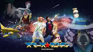 space dandy space dandy cosplay movie poster imgur