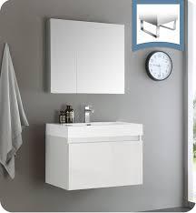 30 White Bathroom Vanity Wall Mounted Bathroom Vanities Bathroom Vanities For Sale