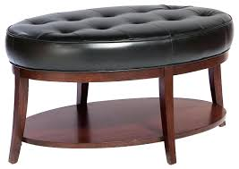 ottoman ottoman coffee table with storage black leather ottoman