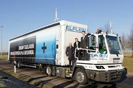 electric truck bmw group puts another 40t battery electric truck into service