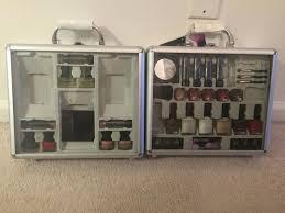 find more the color workshop double fantasy makeup train cases