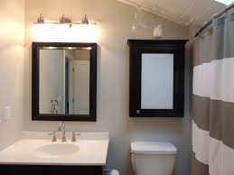 bathroom cozy and gorgeous design medicine cabinets lowes for amusing toilet near pedestal sink and faucet under mirror wall black wood medicine cabinets