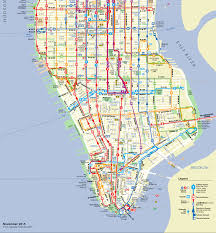 Mta Subway Map Nyc by Mta Manhattan Bus Map Adriftskateshop