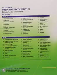 amazon in buy solutions of objective mathematics solutions of