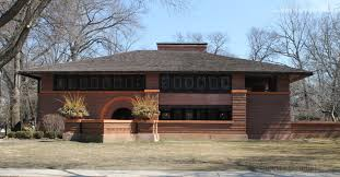 frank lloyd wright prairie house home design