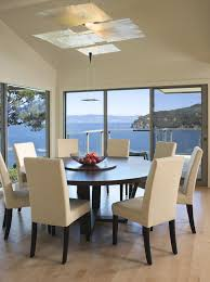 Modern Round Dining Room Table For Fine Round Modern Dining Room - Modern round dining room table