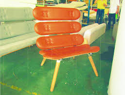 skateboard chairs bricpro riis design a tale of chairs sk8boards