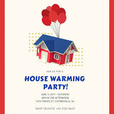 house warming invitation templates by canva