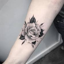 the 25 best rose tattoos ideas on pinterest ink thigh tattoos