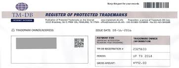 misleading trademark registration invoices and scams